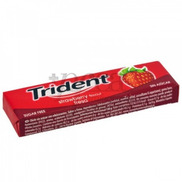 TRIDENT FRUIT FRESA BARRA