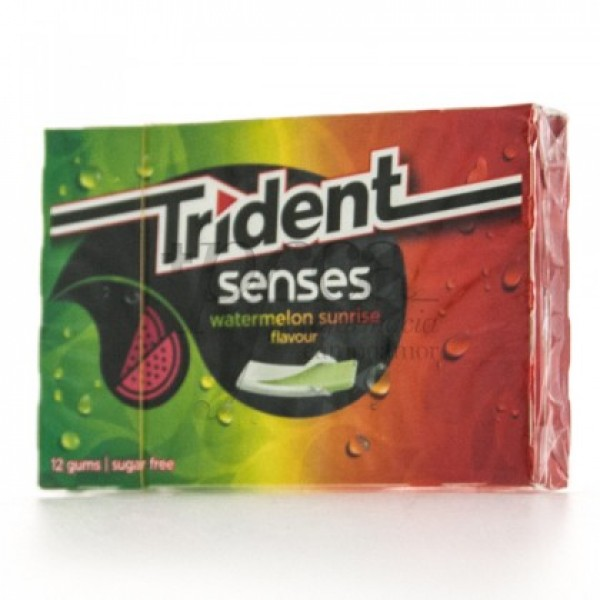TRIDENT SENSES WATERMELON SUNRISE FLAVOUR 12U