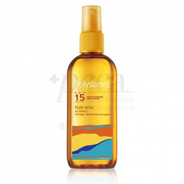 POLYSIANES ACEITE SECO POLY SPF 15 150 ML