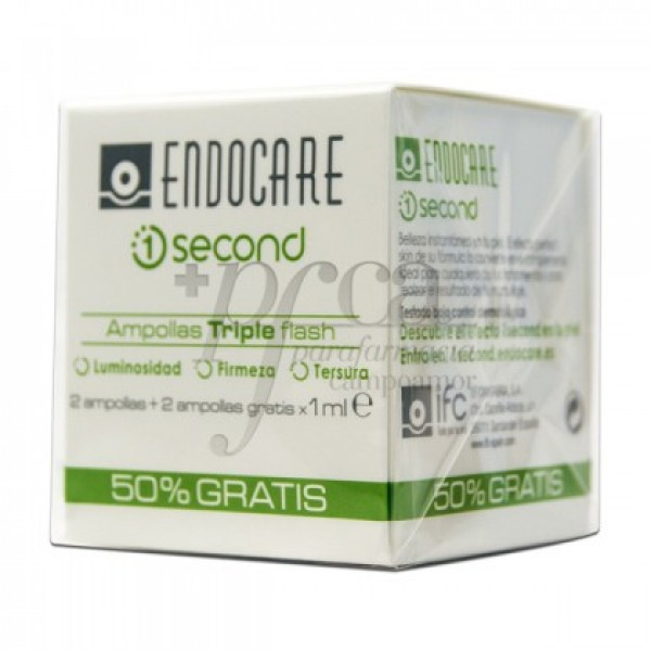ENDOCARE 1 SECOND TRIPLEFLASH 4X 1ML PROMO