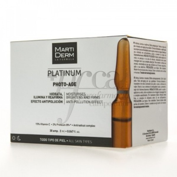 MARTIDERM PHOTO-AGE 30 AMPOLLAS DE 2ML